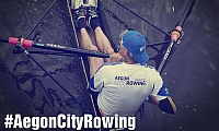 Aegon City Rowing op de Keizersgracht